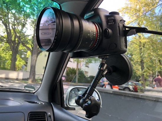 MAG-Tight – Camera Windshield Mount