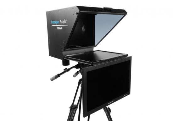 Prompter People Roboprompter Jr. with High Bright Talent Monitor