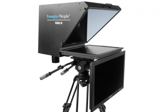 Prompter People Roboprompter Jr. High Bright with High Bright Talent Monitor