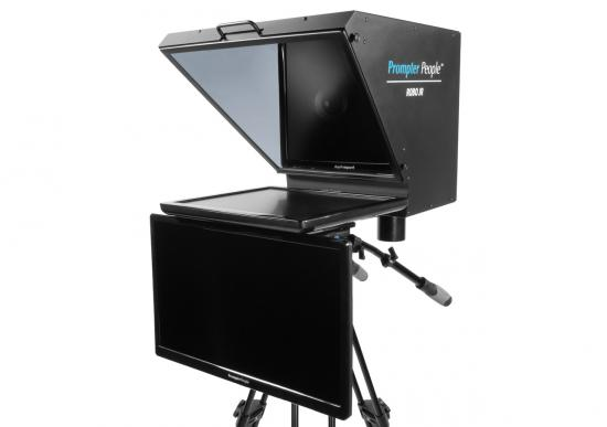 Prompter People Roboprompter Jr. with Regular Talent Monitor