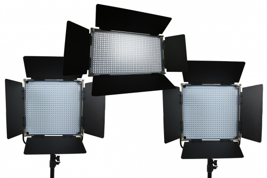 SecondWave Bi-Color LED V2 Lichtkoffer 2x 576 1x 800 3 MONATE DAUERMIETE