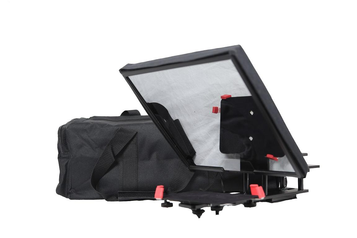 Prompter People UltraLight 12 iPad Pro Teleprompter with Soft Case
